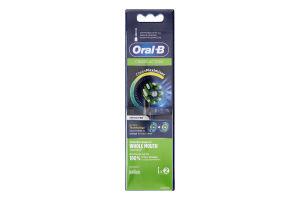 Насадки змінні для електричної зубної щітки Black Edition Cross Action CleanMaximiser Oral-B 2шт