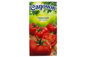 Сок томатный с солью Садочок т/п 1.93л