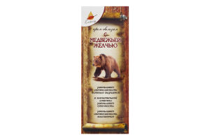 Крем-бальзам для тела С медвежьей желчью Еліксір 75мл