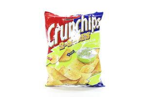 Чіпси карт.Crunchips йогур.Lorenz 140г