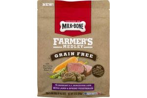 Milk-Bone Farmer's Medley Grain Free Dog Treats with Lamb & Spring Vegetables