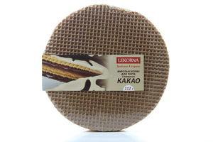 Вафельные коржи с какао Lecorna 112г