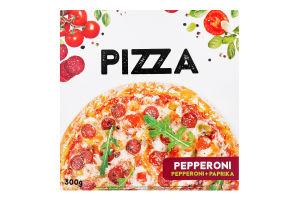 Піца заморожена Pepperoni+Paprika Pepperoni Vici к/у 300г