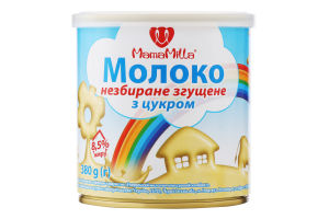 Молоко згущене 8.5% з цукром Mama Milla з/б 380г
