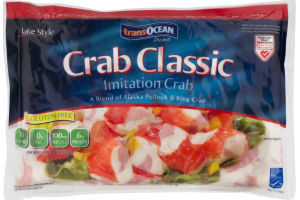 TransOcean Crab Classic imitation Crab Flake Style