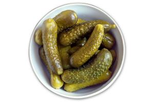 Огірки вагові малосольні