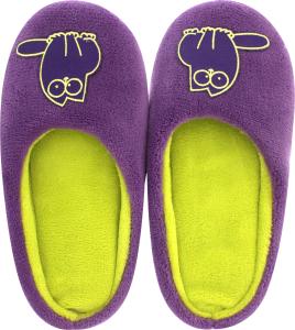 Тапочки-получешки комнатные женские Twins фиолетовый 38-39
