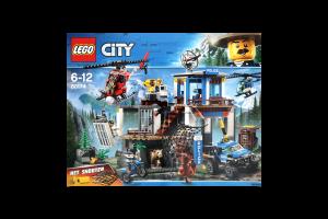 LEGO® City Police Полицейский участок в горах 60174