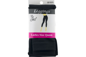 On the Go! Leggings Ladies Size Queen Black