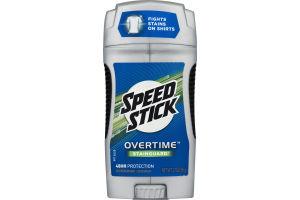 Speed Stick Overtime Antiperspirant Deodorant Stainguard