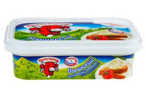 Сир 50% плавлений з вітамінами Вершковий Весела корівка п/у 180г