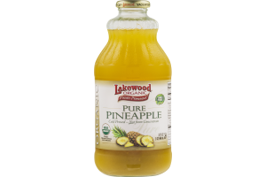 Lakewood Organic Pure Pineapple Juice