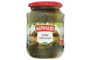 Огурцы соленые бочковые Маринадо с/б 680г