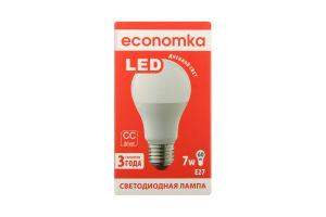 Лампа світлодіодна Economka LED A60 7W E27 4200K 1шт