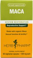 Herb Pharm MACA System Restoration Herbal Supplement Vegetarian Capsules - 60 CT