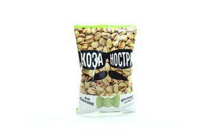Фисташки Коза Ностра жареные соленые мягкая упаковка 120г