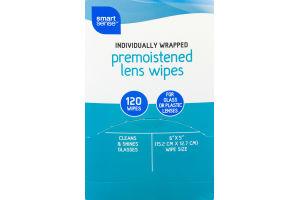 Smart Sense Premoistened Lens Wipes - 120 CT