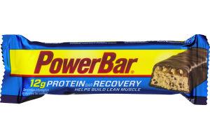 PowerBar 12g Protein Bar Recovery Cookies & Cream Caramel Crisp