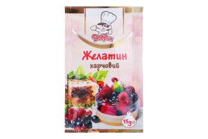 Желатин харчовий швидкорозчинний Любисток 15г