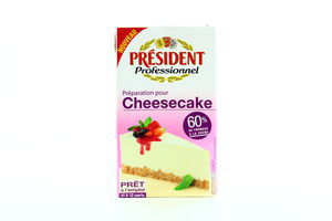 Крем для взбивания Cheesecake President т/п 1л