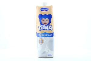Молоко 2.5% ультрапастеризованное Тёма т/п 1л