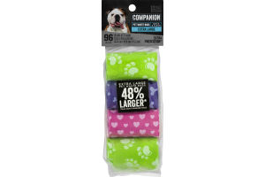 Companion Pet Waste Bags Extra Large - 96 CT