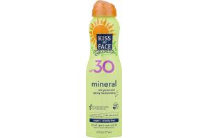 Kiss My Face Organics Mineral Air Powered Spray Sunscreen SPF 30