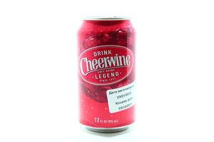 Напиток безалкогольный вишневый вкус с/г Чирвайн 355мл