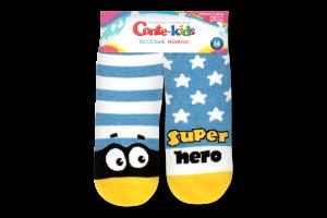 CONTE-KIDS TIP-TOP Шкарпетки дитячі (веселі ніжки) р.14 283 блакитний