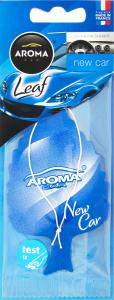 Ароматизатор повітря для автомобіля New Car Leaf Aroma Car 1шт