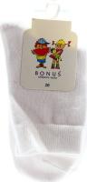 Носки детские Bonus 20р белые