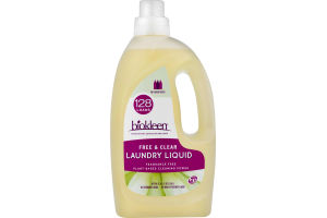 Biokleen Laundry Liquid Free & Clear