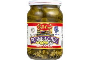 Bell-View Fancy Black Pepper & Garlic Kosher Chips