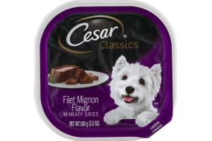 Cesar Classics Caninie Cuisine Filet Mignon Flavor