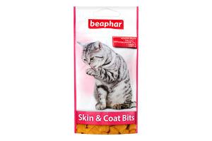 Лакомство для кошек Skin&Coat bits Beaphar д/п 35г