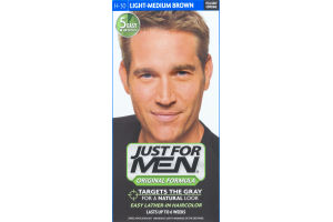 Just For Men Original Formula Easy Lather-In Haircolor H-30 Light-Medium Brown