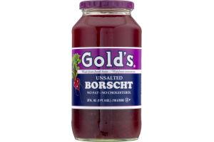 Gold's Unsalted Borscht