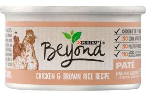 Purina Beyond Chicken & Brown Rice Recipe Pate Cat Food