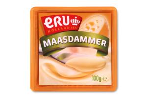 Сир плавлений 45% вершковий Maasdammer Eru п/у 100г