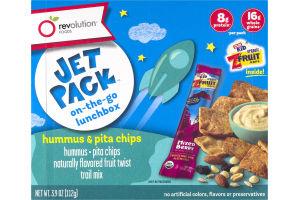 Revolution Foods Jet Pack Hummus & Pita Chips