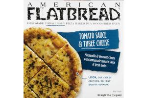 American Flatbread Tomato Sauce & Three Cheese