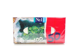 Платочки бумажные универсальные Мята Bella к/у 150шт