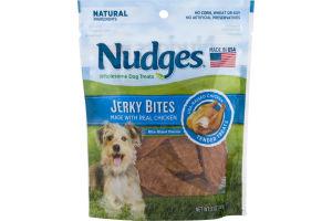 Nudges Dog Treats Jerky Bites Chicken