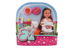 Кукла для детей от 3-х лет №5734191 Animal friends Evi love Simba 1шт