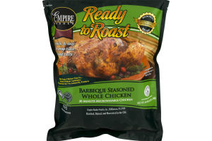 Empire Kosher Ready to Roast Barbeque Seasoned Whole Chicken