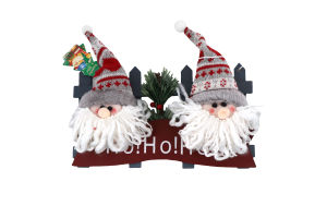 Украшение новогоднее подвесное Дед Мороз 24см Y*1