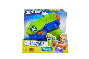 Бластер №01226 для детей от 8лет водяной Small Stealth Soaker X-Shot Zuru 1шт