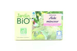 Чай травяной д/похудения органический Jardin Bio 20*1,5г