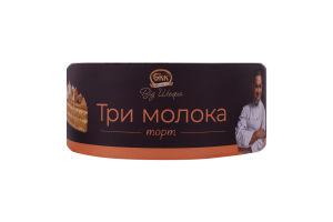 Торт Три молока від Шефа БКК к/у 850г