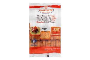 Тосты пшеничные Minigrill Diatosta м/у 90г